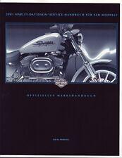 Harley Davidson Sportster Werkstatthandbuch Buch 2001 deutsch