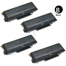 4pk Black Toner Cartridge Brother TN650 TN-650 MFC-8370 MFC-8480DN MFC-8680DN
