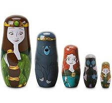 SOLD OUT BRAND NEW  Disney Pixar Brave Nesting Dolls LIMITED EDITION of 2500
