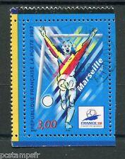 FRANCE 1997, timbre 3075, COUPE du MONDE de FOOTBALL, Marseille oblitéré
