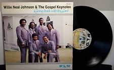 """Willie Neal Johnson & The Gospel Keynotes """"Going Back With The Lord"""" LP Promo"""