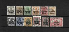 Postgebiet Ob. Ost - Lot gestempelte Briefmarken