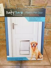 Barksbar Plastic Pet Door Extra Large For Pets Up To 100 Pounds