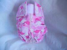 Female Dog Puppy Pet Diaper Washable Pants Sanitary Underwear Pink FLAMINGO XXXS