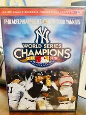 NEW ! / WORLD SERIES CHAMPIONS : 2009 : DVD : PHILLIES VS: YANKEES