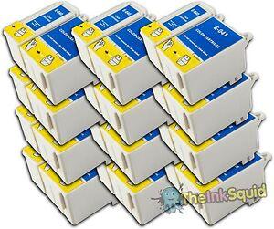 12 Sets T040/T041 Compatible Non-OEM Ink Cartridges For Epson Stylus CX3200