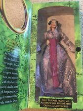 """LOTR Arwen 10"""" Figure With Fabric Outfit & Accessories; Toy Biz Collector Series"""