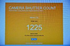 Nikon D300S 12.3MP Digital SLR Camera - Body - 1225 Clicks - Mint