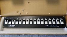 Black Box JPM800A CAT5 FEED THRU PATCH PANEL 16P UNSHIELDED new in Box (C12B4)