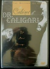 THE CABINET OF DR. CALIGARI DVD - w/REPRODUCTION OF ORIG MOVIE POSTER - SEALED!