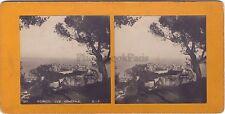 Monaco Vue générale Stéréo Photo Vintage argentique