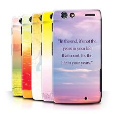 STUFF4 Back Case/Cover/Skin for Motorola RAZR XT910/Vivid Ombre