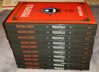 Persepolis:The Story of a Childhood Graphic Novels HB Marjane Satrapi LOT of 10!