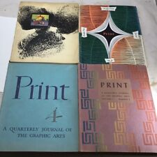 1940's First Four Issues of Print Magazine - George O'Keefe Dole Pineapple AD