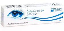 Carbomer Lubricating eye drop gel 0.2% 10g Dry Eyes (BUY 2 x 10g GET 1x10g FREE)