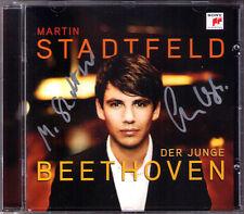 Martin STADTFELD & Sebastian WEIGLE Signiert BEETHOVEN Piano Concerto No.2 CD