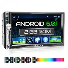 "AUTORADIO MIT ANDROID 6.0.1 2GB 7"" TOUCHSCREEN NAVI WLAN BLUETOOTH USB SD RDS"