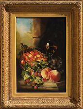 Minnie F.W. Gilbert (British, 19 Century) Original Oil Painting Signed