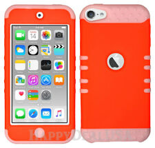 For Apple iPod Touch iTouch 5 6 - KoolKase Hybrid Silicone Cover Case - Orange