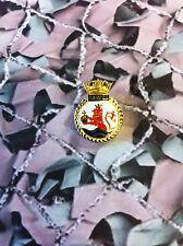 Royal Navy HMS EXETER Enamel Lapel Badge