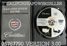 2005 2006 2007 2008 Cadillac STS & Chevrolet Corvette Navigation DVD Map V.3.00