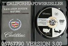2003 2004 2005 2006 Cadillac SRX XLR Deville Seville Navigation DVD Map V 3.00