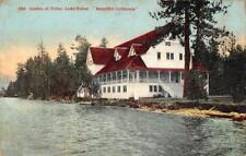 Casino at Tallac, Lake Tahoe, California ca 1910s Vintage Postcard