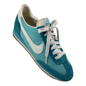 Vintage 1981 Nike Olivia Oceania 1065 Turquoise Womens 10 Athletic Sneakers MINT