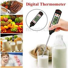 Instant Digital Food Probe Cooking BBQ Meat Kitchen Oven Chocolate Thermometer