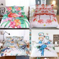 Animal Duvet Cover Set Premium Soft Comforter Bedding Set Queen King 3 Piece