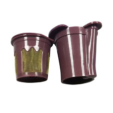 Tikkes Cup for Keurig VUE Brewers Reusable Coffee Works with Keurig V500, V...