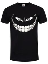 Camiseta Crazy Monster Grin Negro para Hombre
