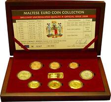 3,88 Euro Malta KMS Kursmünzensatz Kursmünzsatz st 2008 HOLZBOX