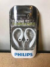 Philips SHS3200WT Flexible Fit in-ear Earphones New in Open Box-White