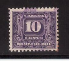 CANADA 1930-32 USED #J10, POSTAGE DUE STAMP !! R