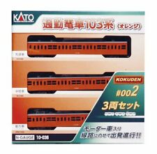 Kato 10-036 Series 103 Commuter Train KOKUDEN-002 Orange (N scale)