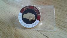 Classic Mini Cooper S Genuine Rover Enamel 35th Birthday Badge NOS Rare Mpi 1275