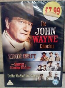 True Grit/The Sons Of Katie Elder/The Man Who Shot Liberty Valance (DVD, 2008)