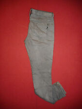 Ben Sherman Siouxsie Zip-Fly Ladies Grey Denim Jeans  Waist 32 Leg 32