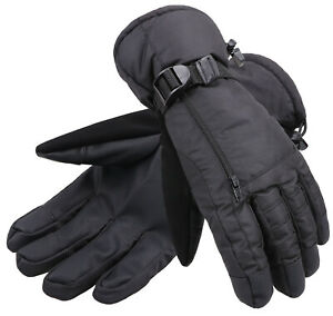 Waterproof Winter Ski Gloves Snow Insulated Warm Snowboard Hiking Men