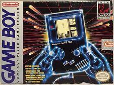 ORIGINAL NINTENDO GAME BOY SYSTEM IN BOX TETRIS BO JACKSON WITH ACESSORIES