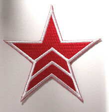 """Mass Effect Red Star Logo Embroidered Patch-3"""" Tall- FREE S&H (MEPA-04)"""