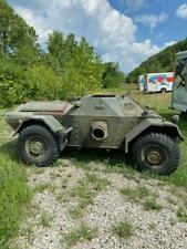 Australian Military Ferret Scout 4x4 Armoured  Car, Needs Repair, Project
