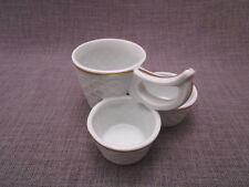 service a condiments ancien en porcelaine de Limoges