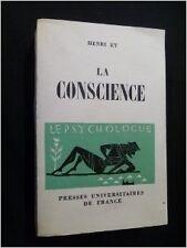 Henri Ey - La Conscience - 1963 - Broché