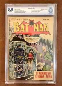 🦇 BATMAN #121 🇧🇷 BRAZILIAN PORTUGUESE EDITION 1st Mr FREEZE 🦇(1960) Ebal
