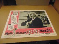 """GO GO MANIA 1965 JIMMY SAVILLE 11X14"""" LOBBY CARD N8582"""