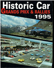 Historic car - Grands prix  et  rallies 1995 - Panda press image -
