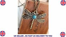 XL 0203 New Vintage Jewelry Retro Hollow Dragonfly Long Paragraph Sweater Chain