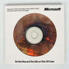 GENUINE Microsoft Office Small Business Edition 2003 DVD With Registration Key